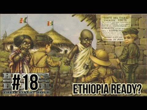 Hearts of Iron 3: Black ICE 9 - 18 (Italy) Getting Ethiopia Ready for War