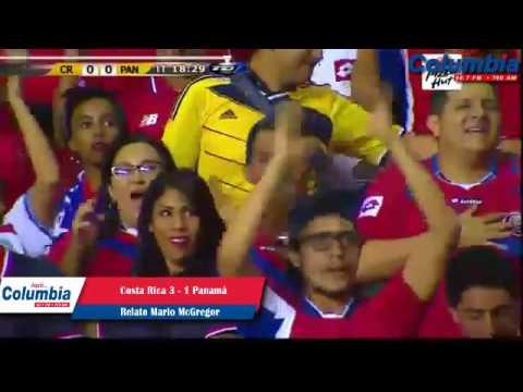 Gol de Christian Bolaños Costa Rica 1-0 Panamá