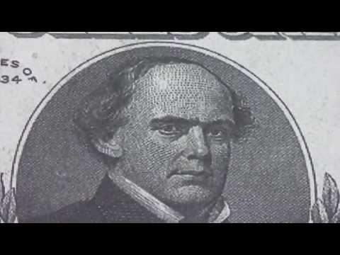 Wer war Salmon P. Chase ? - Der 10.000 US-Dollar Schein