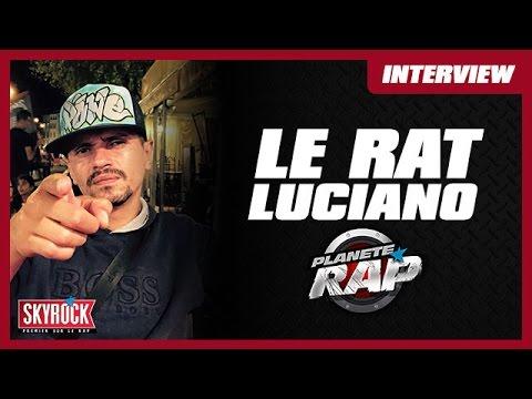Le Rat Luciano en direct dans le Planète Rap d'Alonzo