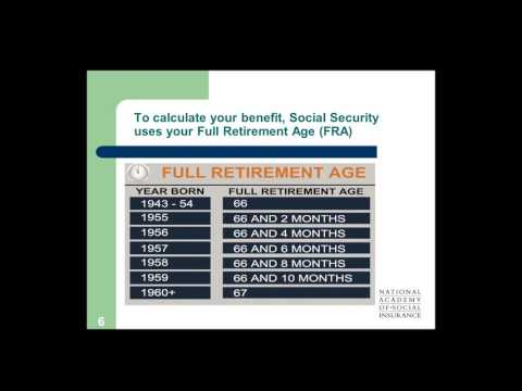 Webinar: Planning for Retirement: Making the Most of Your Social Security