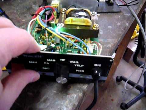 whelen ws295 siren / sa314 speaker