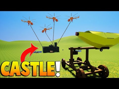 Brick Rigs - BECOMING THE KING and Medieval Lego Castle Battle! - Brick Rigs Gameplay & Roleplay