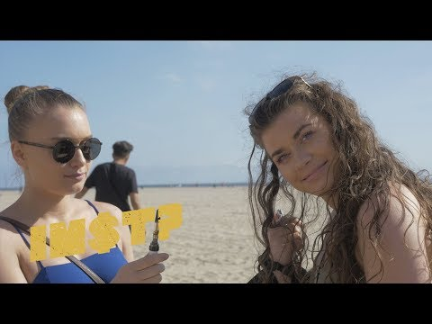 Clever & NLE Choppa - Stick By My Side: STREET REACTIONS at Venice Beach