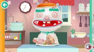 Toca Kitchen Cooking cartoon game for kids