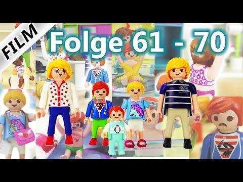 Playmobil Film Deutsch | Folge 61-70 | Kinderserie Familie Vogel | Compilation
