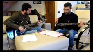 """Bomba o non bomba"" (cover A. Venditti) - unplugged in salotto"