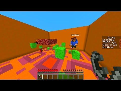 Minecraft 1.8 CHALLENGE Mini-Games with Vikkstar, Preston, Rob & Tyler