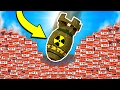 EXPLODING TNT NUKE BOMB MISSILE MINECRAFT TROLL!
