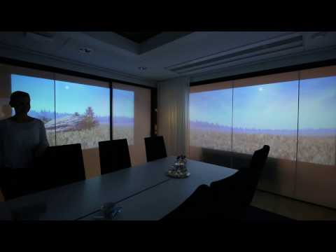Seloy Live SHADE in the board room of a Nasdaq Helsinki listed corporation