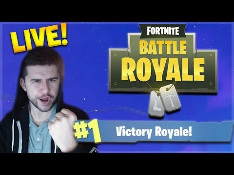 SOLO CHAMPION! - GOING FOR THAT NUMBER 1 SPOT! Fortnite: Battle Royale