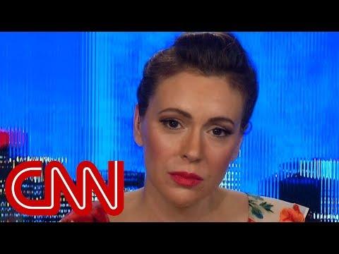 Alyssa Milano: I could feel Kavanaugh's rage