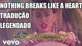 Mark Ronson Ft Miley Cyrus Nothing Breaks Like A Heart Tradução Legendado PT BR