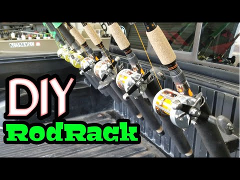 DIY Fishing Pole Holder (Truck Bed)