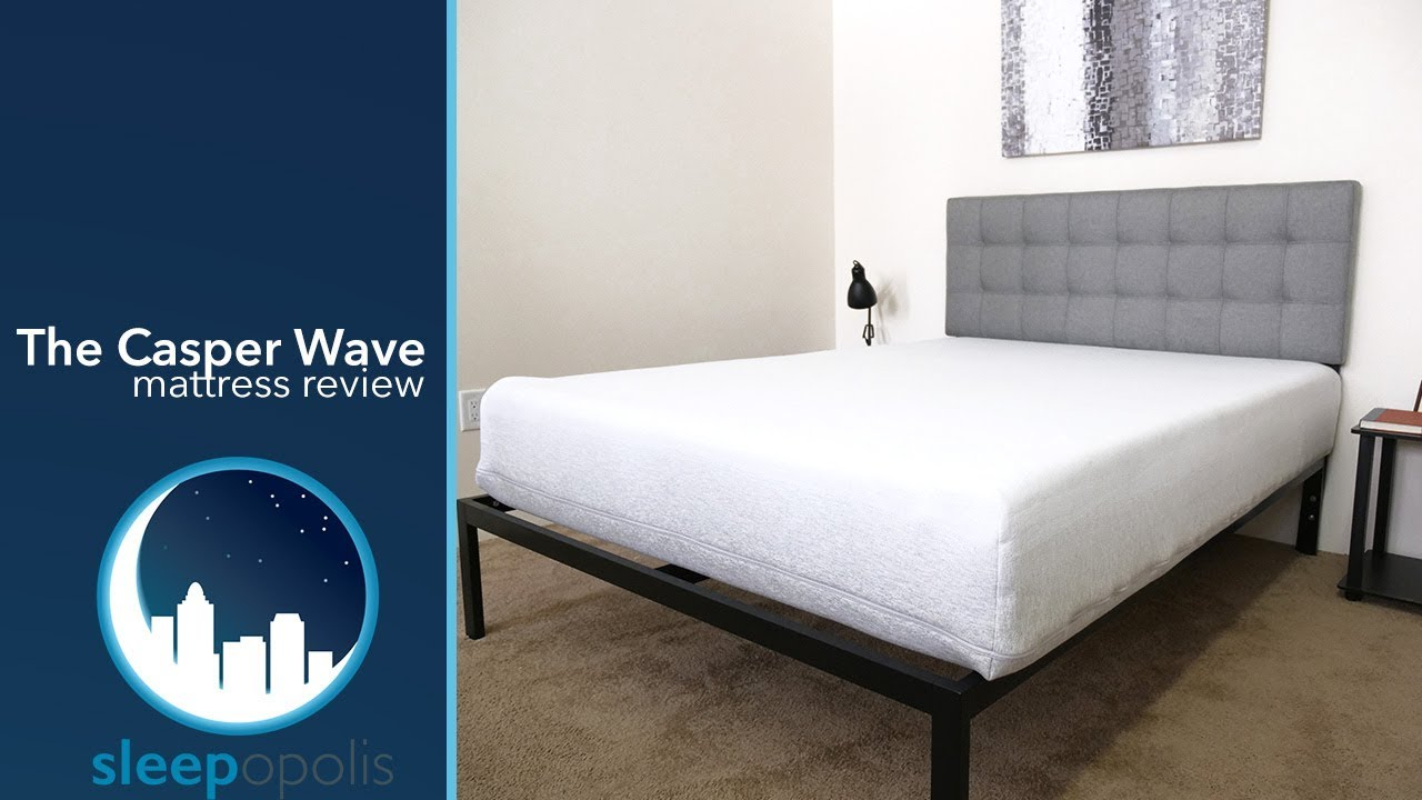 Casper Wave Mattress Review - YouTube