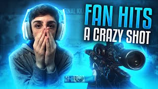 FAN HITS A CRAZY TRICKSHOT FOR ME!! | FaZe Rug
