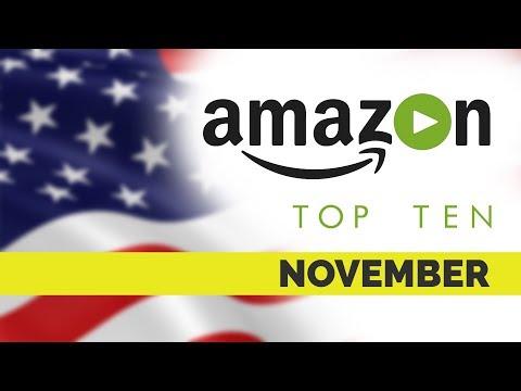 Top Ten movies on Amazon Prime US for November 2017