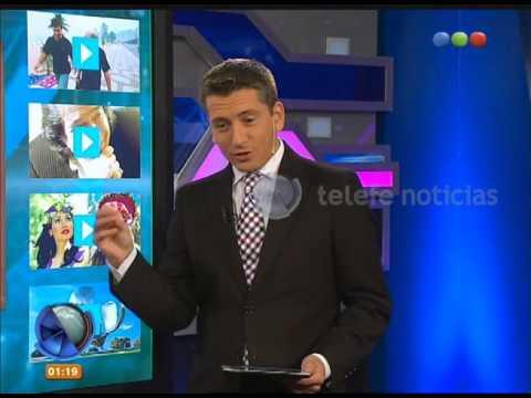 Saludos en Diario de Medianoche - Telefe Noticias