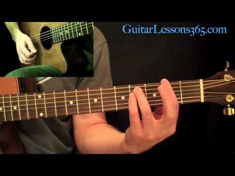 Across The Universe Guitar Lesson  The Beatles  Acoustic Standard Tuning