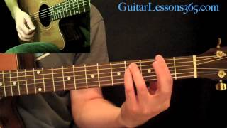 Скачать Across The Universe Guitar Lesson The Beatles Acoustic Standard Tuning