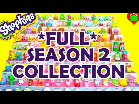 Shopkins Season 2 Collection Complete Collection by Toy Genie