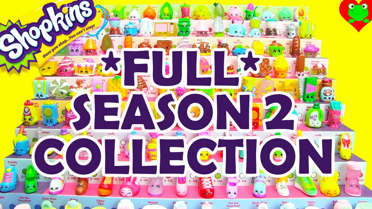 Shopkins Season 2 Collection Complete By Toy Genie