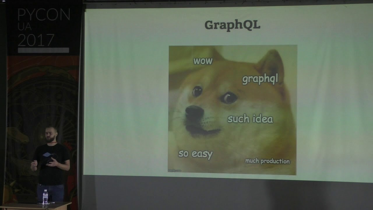 Image from Igor Davydenko - API Wars: Episode X - GraphQL