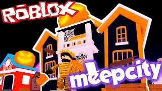 YOU ENTER THE HALLOWEEN HOUSE 🎃 MEEPCITY ? ROBLOX