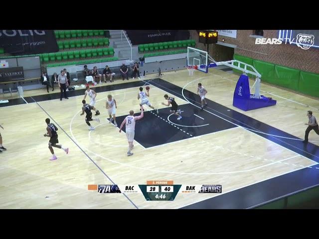 Bears Academy v Bakken Bears - Highlights | Basketligaen 2020/21