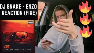 DJ SNAKE & SHECK WES - ENZO (ft 21 SAVAGE and OFFSET) MUSIC REACTION! (FIRE🔥🔥)