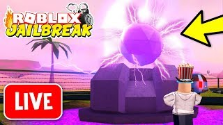🔴 Jailbreak NEW UPDATE OUT NOW!! MILITARY BASE, UFO, ALIEN INVASION! | Roblox Jailbreak LIVE
