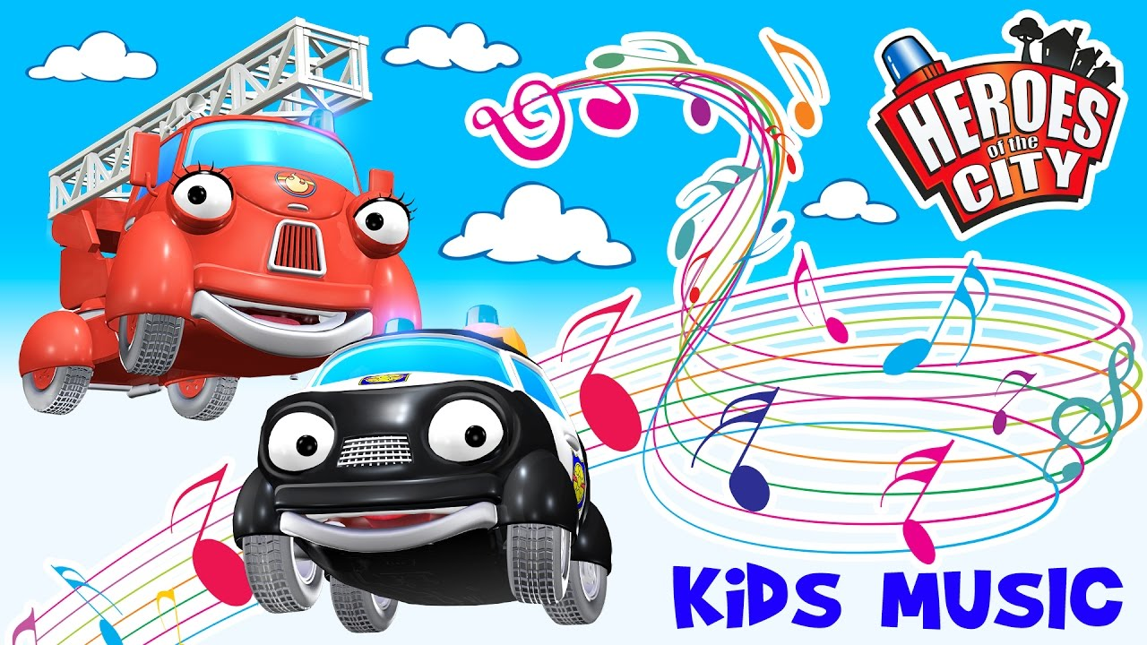 Kids music the song about paulie police car and fiona for Music city motor cars