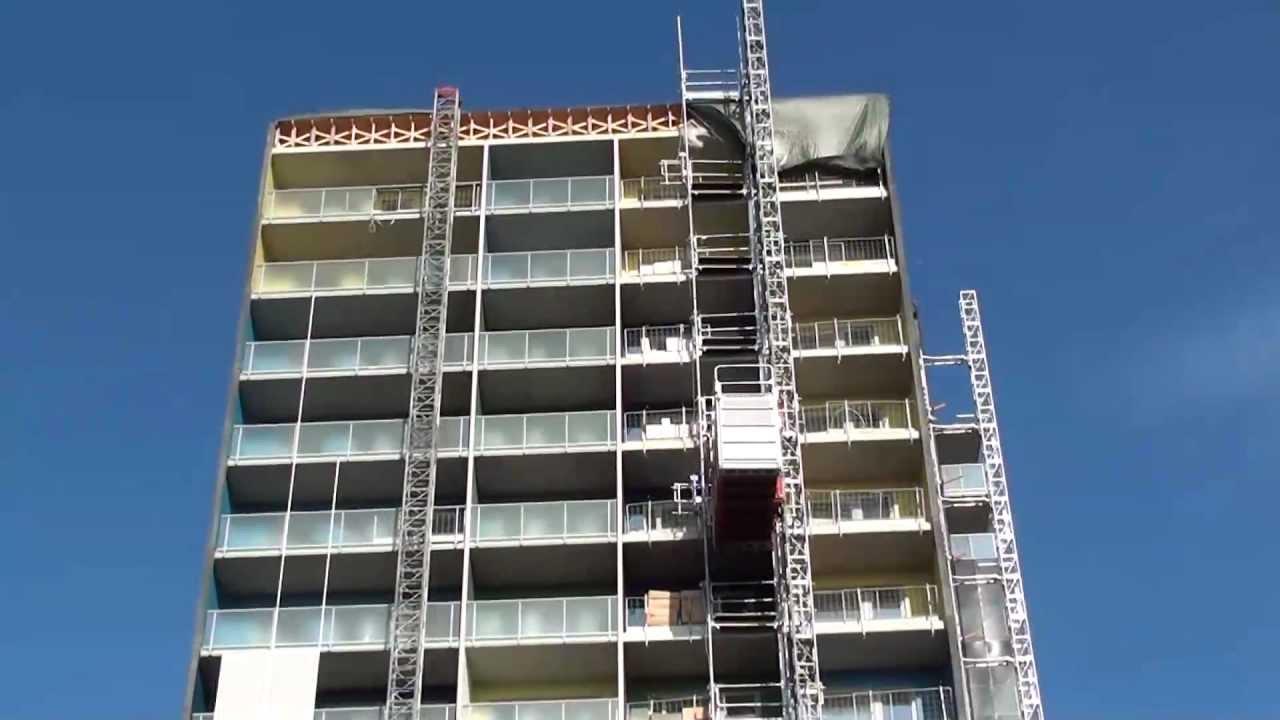 Scanclimber SC1432 personnel and material hoist/construction hoist
