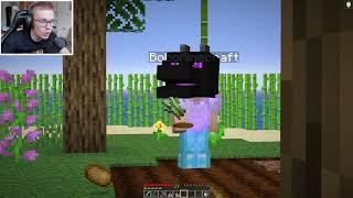 SPĘDZIŁEM 24H w DOMKU BOBO w Minecraft! *nic o tym nie wiedział*