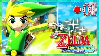 ZELDA : THE WIND WAKER HD #01 - Le commencement   🔴