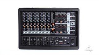 EUROPOWER PMP1680S 1600-Watt 10-Channel Powered Mixer