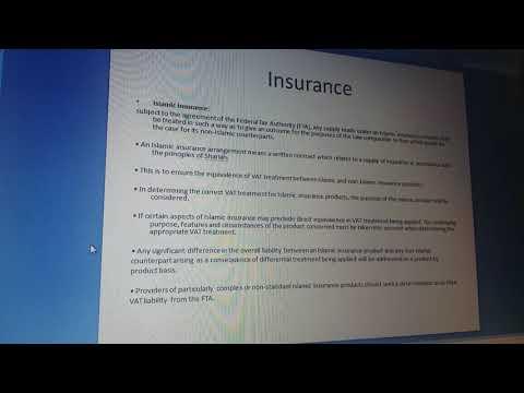 VAT UAE- Insurance