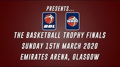 2020 Trophy Finals - Sun 15 Mar 2020 - Emirates Arena, Glasgow