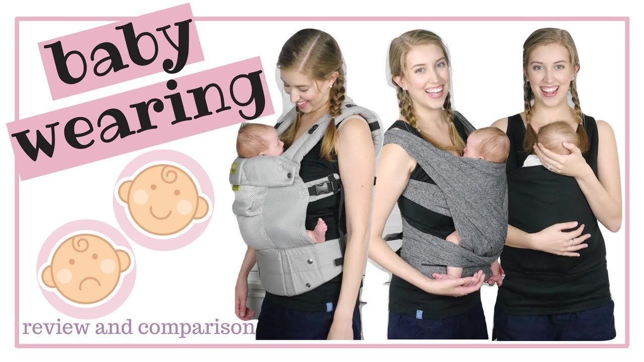 Baby Carriers Try On And Review 2018 Boppy Lalabu Lille Baby
