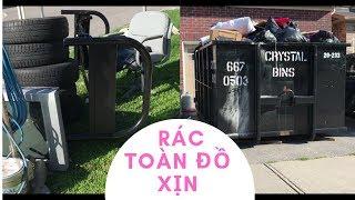 Đống rác khổng lồ toàn đồ xịn ở Canada // Cuộc Sống Canada