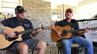 Hell Right - Blake Shelton ft Trace Adkins (acoustic cover)