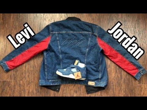 a7ff4f3a12e Jordan x Levi Trucker Jacket review - YouTube