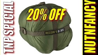 Recon Sleeping Bags 20% Off for TNPrs