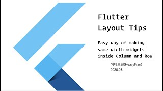 Flutter Layout Related Tip (In…
