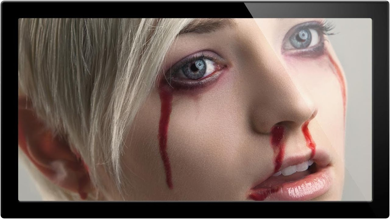 How To Make Fake Blood In Photoshop - A Phlearn Video Tutorial ...