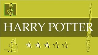 Flute Notes Tutorial - Harry Potter - Hedwig's Theme (Sheet music)