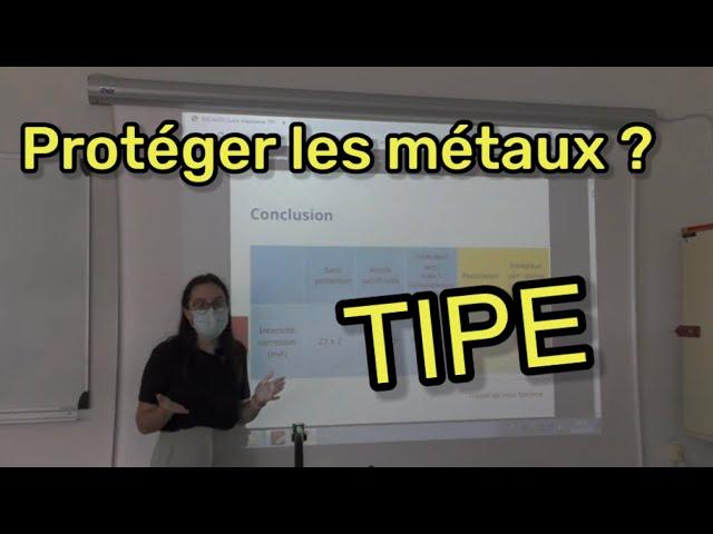 TIPE #6 : Protection des métaux par Lucie Bacalou