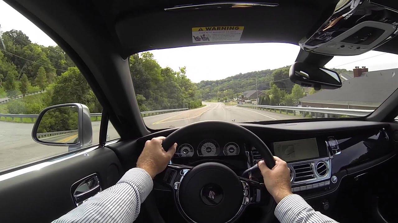 Rolls Royce Wraith For Sale >> 2014 Rolls Royce Wraith POV Test Drive