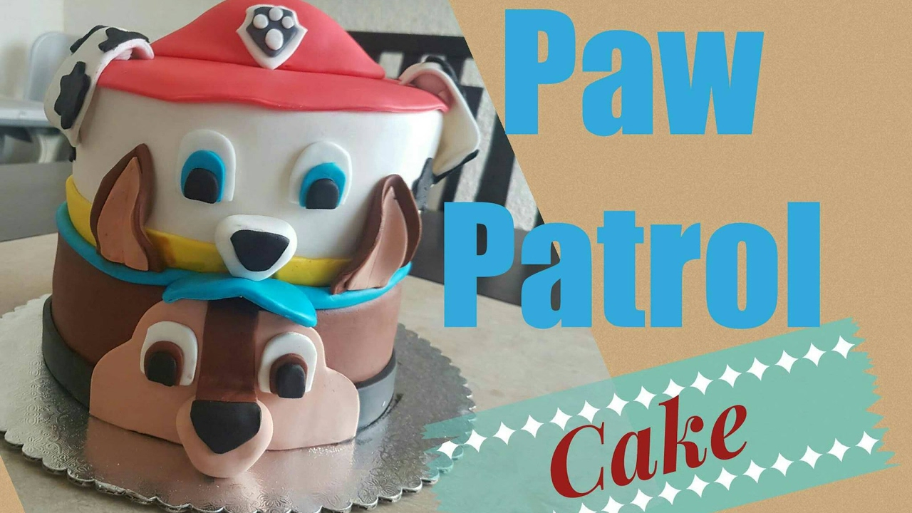 Paw Patrol Marshall Birthday Cake