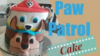Pastel Chase & Marshall Paw Patrol ♡ Decorando Pastelito